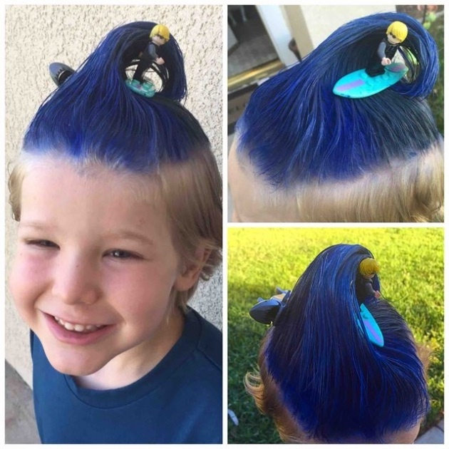 These Parents Are Real Artists! Beautiful Hairstyles Made by Parents Hairdressing