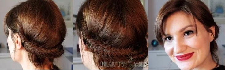 bun: 10 simple hairstyles and easy to do Fast Simple Hairstyles