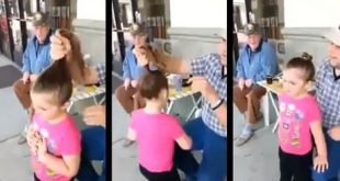 Watch How This Dad Haired His Little Girl's Hair Hairstyles For Little Girls