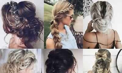 The most beautiful hairstyles for your evenings