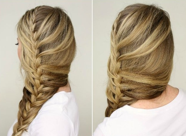 10 Beautiful hairstyles with braids trend New