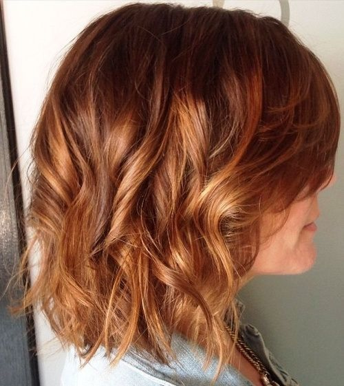Copper Sweep: This Summer's Trend Hair Color Ideas