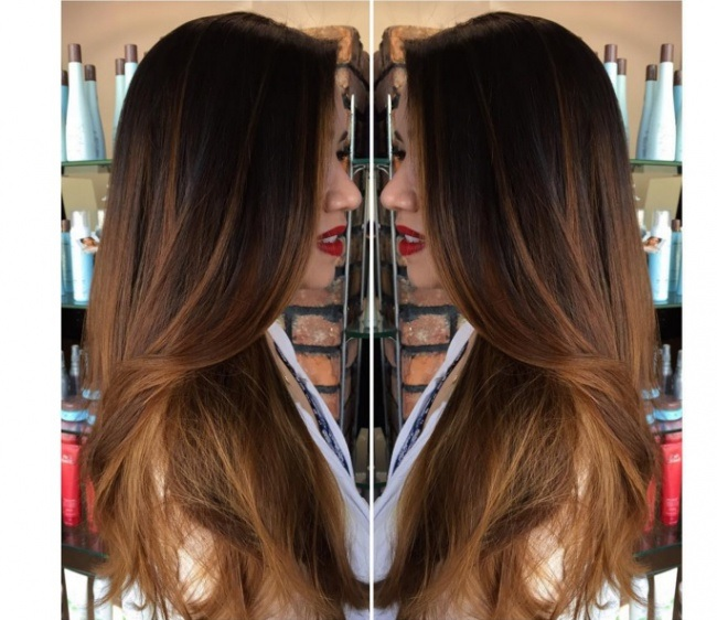 Shaded Hair Chic for Spring Hair Color Ideas
