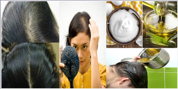 How to make a homemade hair mask with coconut oil, it is super efficient !!! Hair Styling Tips