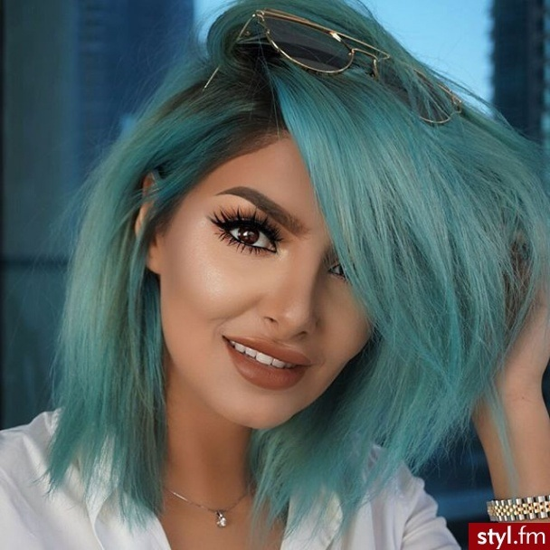 15 Beautiful colors for medium-length hair to stitch Hair Color Ideas