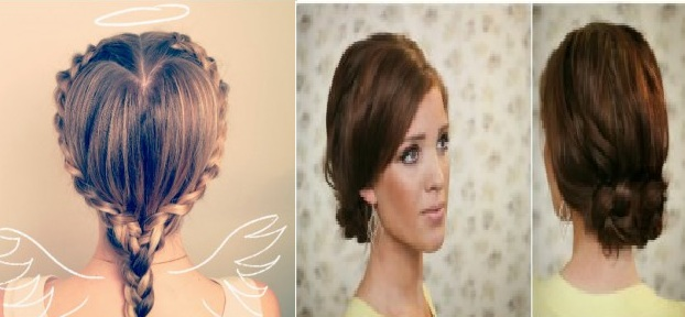 Very nice collection of hairstyles braids simple and fast Hairstyle for Woman