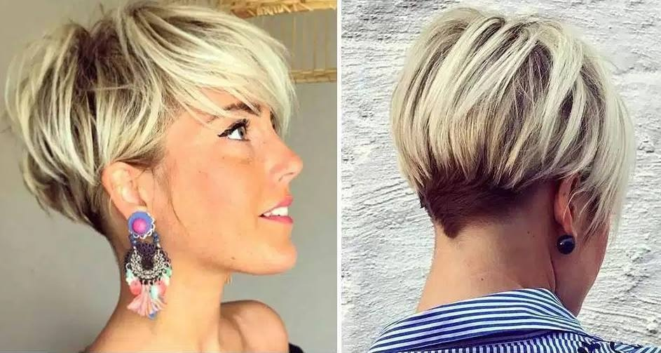 New women's short haircut: 20 models