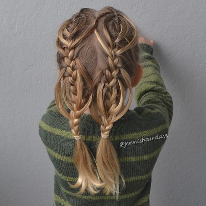 Beautiful braids for little girls Fast Simple Hairstyles