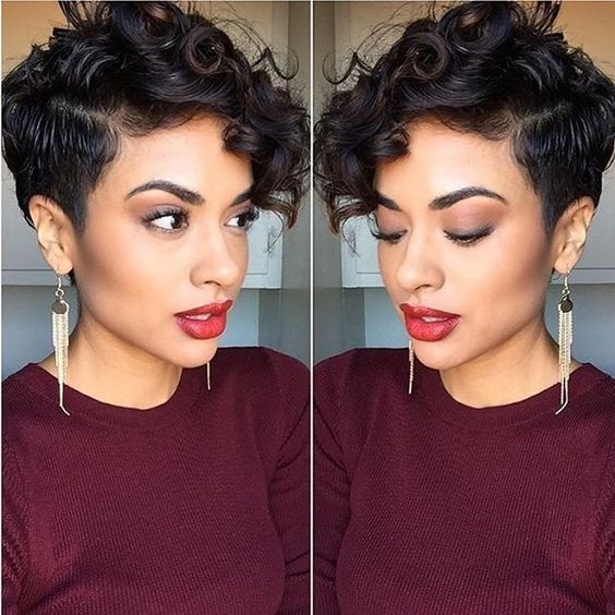18 Styles For Your Pixie Cut Hair Color Ideas