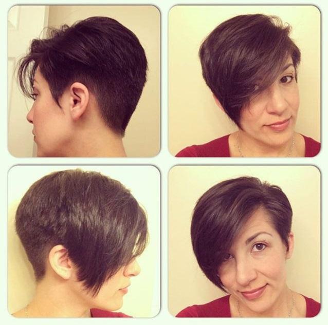 Beautiful colors On short hair! Hair Cut Trends