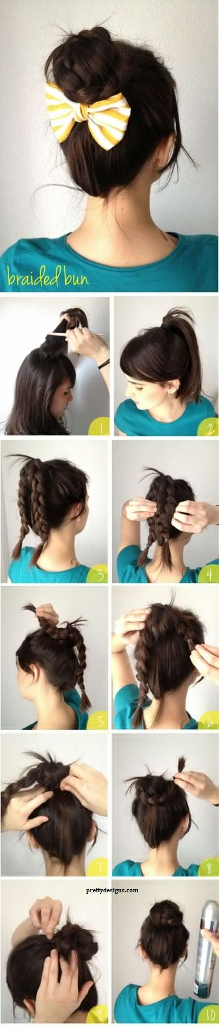 More than 25 Easy Hairstyles to Make In Less Than Five Minutes Easy Hairstyles