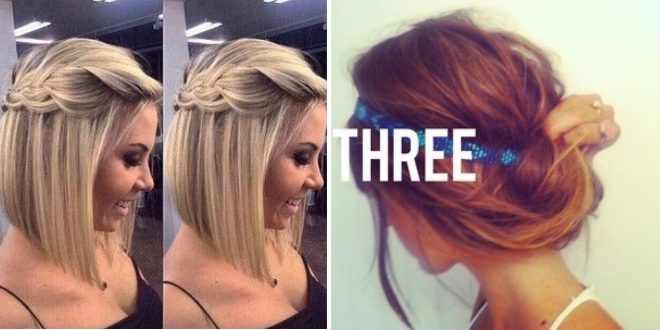 Short Hair: 15 Simple Hair Styles For Everyday! Short Hairstyles