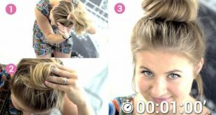 Simple, Beautiful and Ultra Fast Hairstyle For Medium Hair Hairdressing Medium Hairstyles