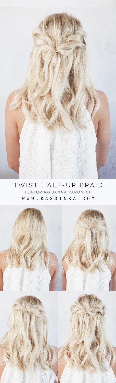 Modern hairstyle woman long hair Hairdressing Medium Hairstyles