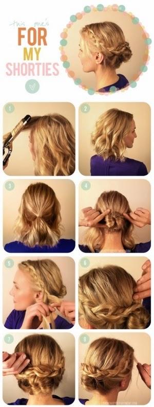 Short hair styling tutorial Short Hairstyles