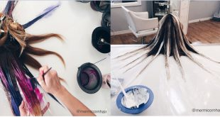 Here's The New Hair Coloring Technique That Creates The Buzz! Hair Color Ideas