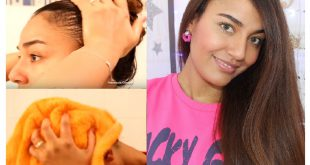 Smooth your hair naturally and without heat! Hair Styling Tips