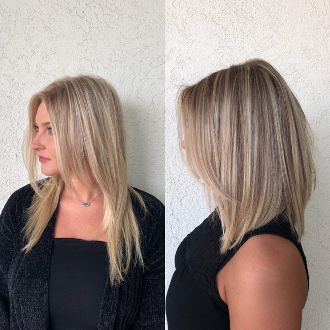 Beautiful square cups trend New Hair Cut Trends