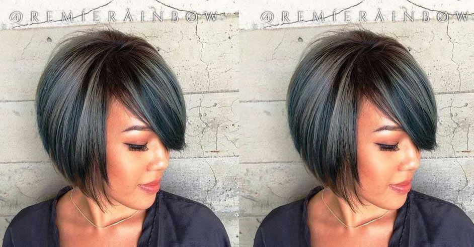 20 Short Gradient Cups For Fine Hair