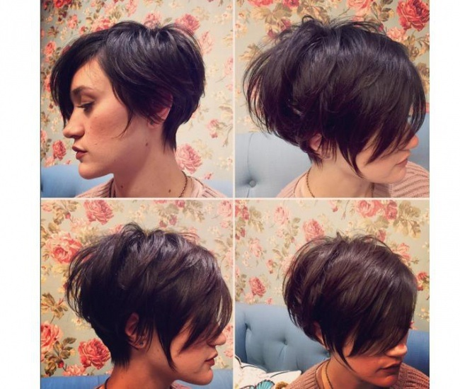 Pixie Short Very Fashion: 20 Models in Photos New Hairstyle Trends
