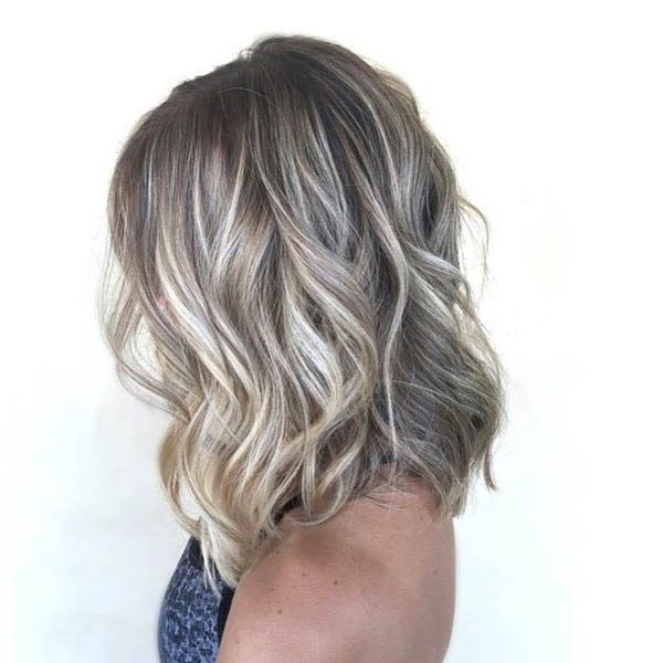 the most beautiful mid-long hair ideas special valentine's day Hair Color Ideas