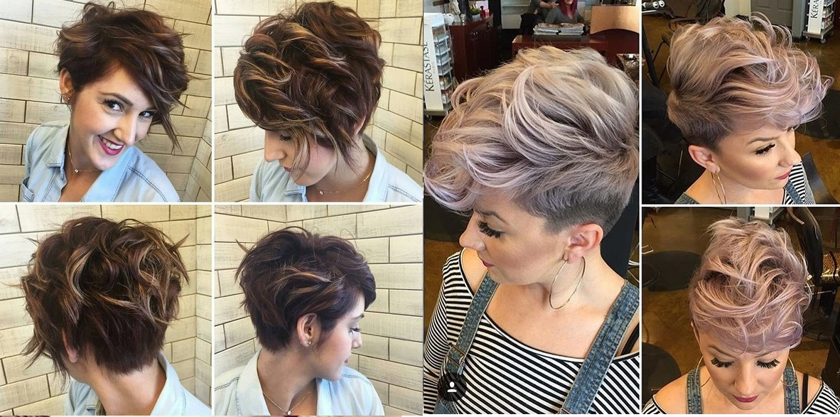 25 Short Hair Sweeping Patterns