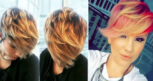 Beautiful Short Cups With Fashion Colors Hair Color Ideas