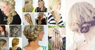 50 Hairstyles 5 Minutes To »Lazy Grill« Everyday Hairdressing