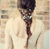 Simple hairstyle for evening Hairstyles For Evening