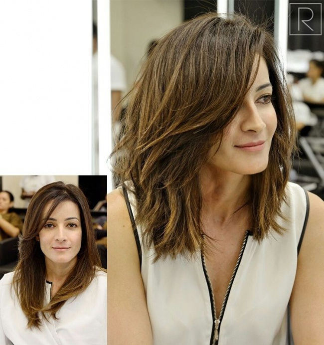 Mid-Length Hair Trend Summer New: The Best Models to Stitch Hair Cut Trends