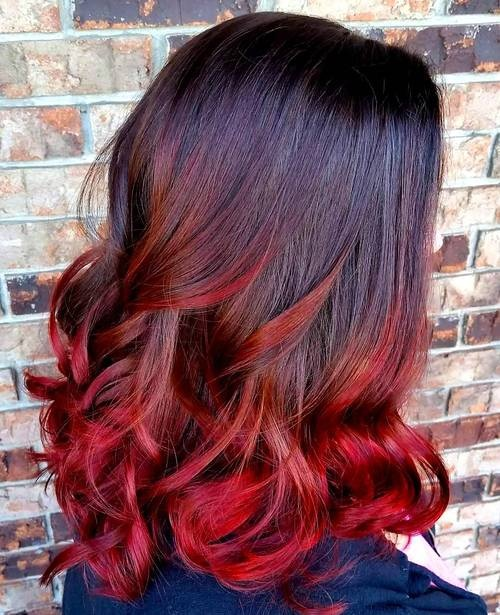 You Must Absolutely Try These Trendy Shadow Hair Styles New Hair Color Ideas