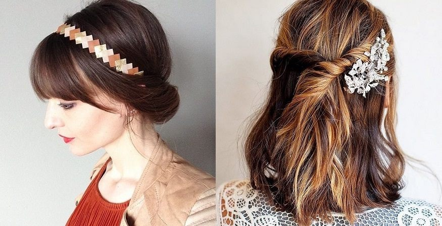 Easy Hairstyles With Pretty Accessories Fast Simple Hairstyles