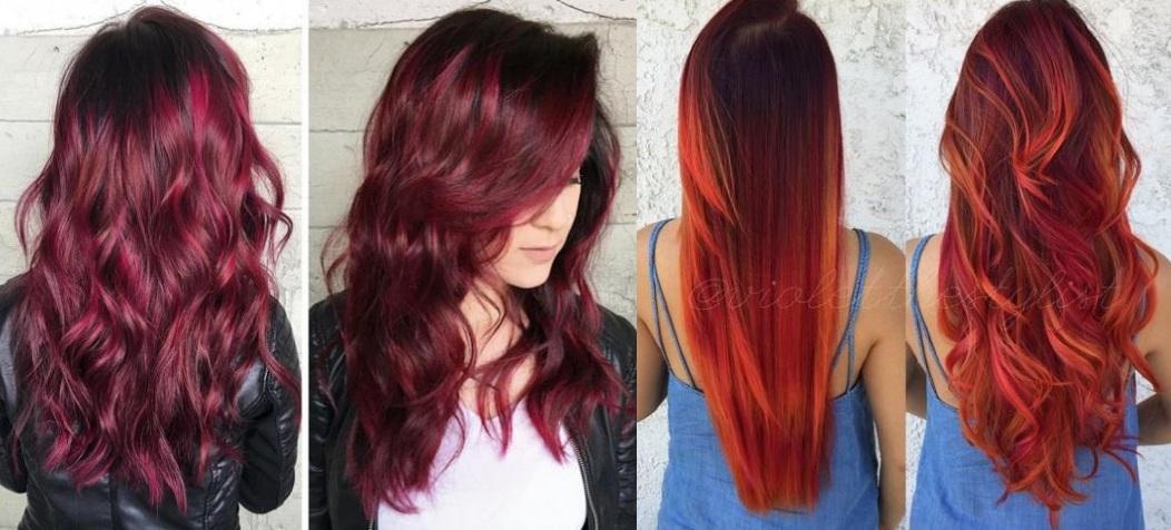 10 beautiful colors for long hair New