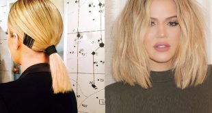 7 Khloe Kardashian Inspired Square Cup Hairstyles Hair Styling Tips