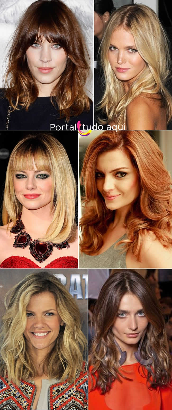Medium Hair: Celebrity Choice New Hairstyle Trends