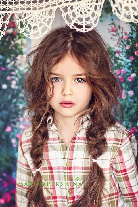 10 beautiful hairstyles for little girls Hairdressing