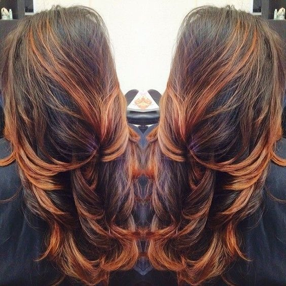 The Best Hair Ombre And Wicks To Attempt This Year- 20 Flawless Models Hair Color Ideas