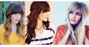 30 Stunning Hairstyle Styles With Bangs: The Proof In Photos New Hairstyle Trends