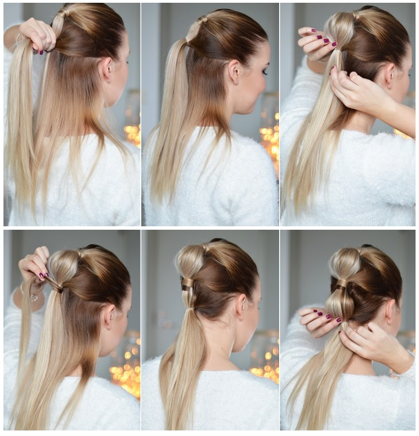 10 Simple and Fast Hairstyle Styles For Everyday Everyday Hairdressing
