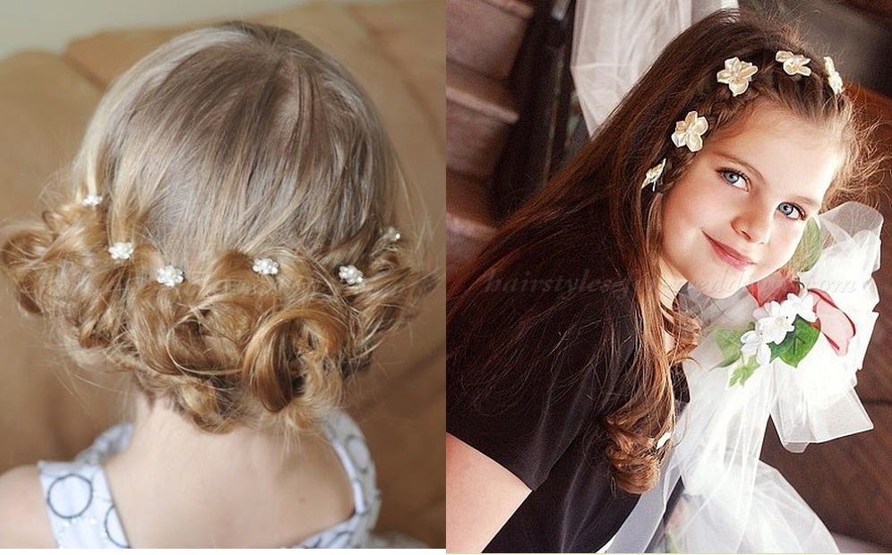 little girl hairstyle for wedding New Fast Simple Hairstyles