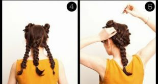 Easy and quick hairstyle for girls - Simple hairstyles for girls Girl Hairstyles