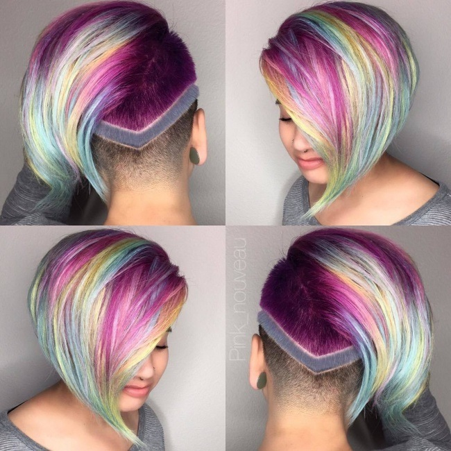 Beautiful Short Cups With Sublime Colors Trend Summer New Hair Color Ideas