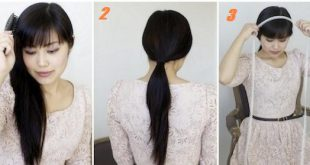 Beautiful simple hairstyle Simple Hairstyles