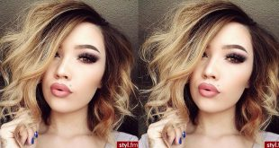 The most beautiful colors for your hair mid-length Hair Color Ideas