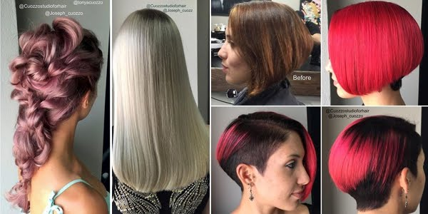 Hair Changes: 15 Photos Before After Hair Color Ideas