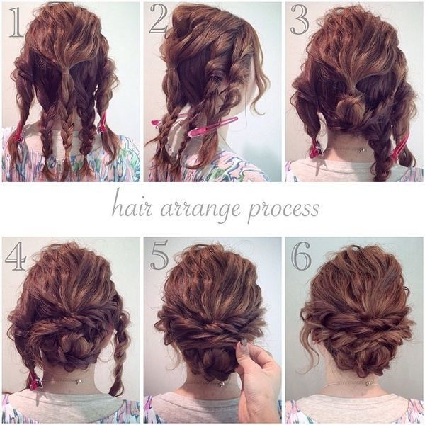 Quick and easy hairstyles for medium length hair: photos of simple tutorials Hairdressing Medium Hairstyles