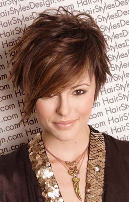 Asymmetrical Boyfriend Cut With A Long Bangs! Hair Cut Trends