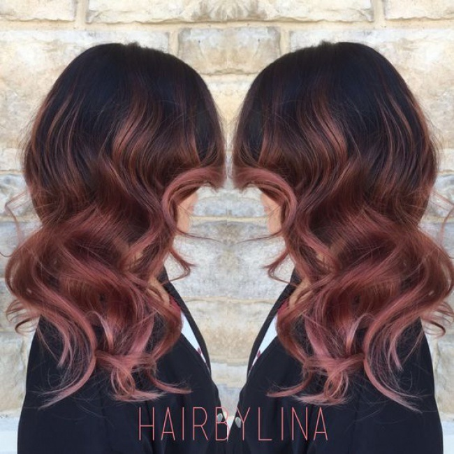 Shaded Hair on a Brown or Brown Base: This is the Ideal Idea for Successful Coloring Hair Color Ideas