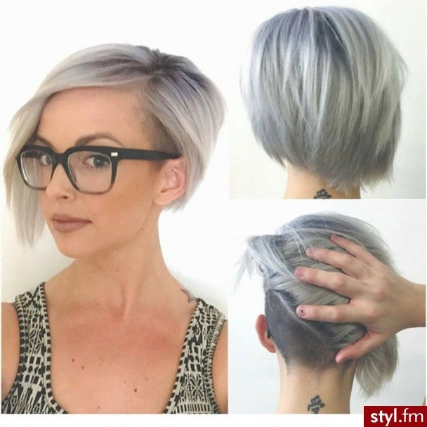 15 Square Cut Models - New Trends Hair Color Ideas
