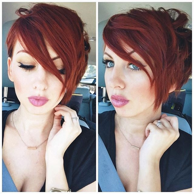 The Asymmetrical Short Cups: The Trend New To Try Without Hesitation Hair Color Ideas